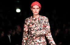 Remixed Grunge Runways - The Givenchy Fall Collection Dazzled With Archival Reference