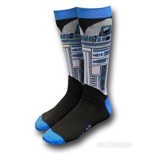 Geeky Sci-Fi Character Socks