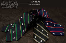 Subtle Sci-Fi Neckties - These Star Wars Ties are a Modest Way to Show Off Your Nerdy Side