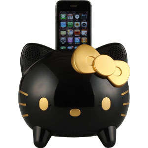 Chic Cartoon Kitty Speakers