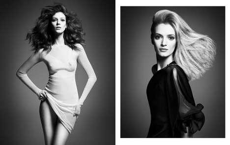 Exclusive Top Model Editorials