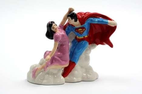 Superheroic Condiment Shakers