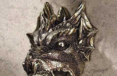 Ferocious Dragon Bottle Openers - This Gothic Looking Beverage Popper is for Those Who Love Fantasy