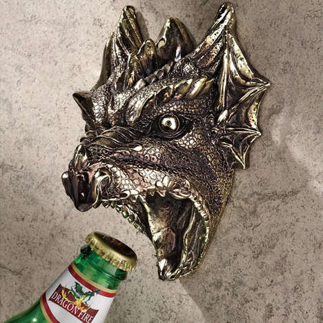 Ferocious Dragon Bottle Openers