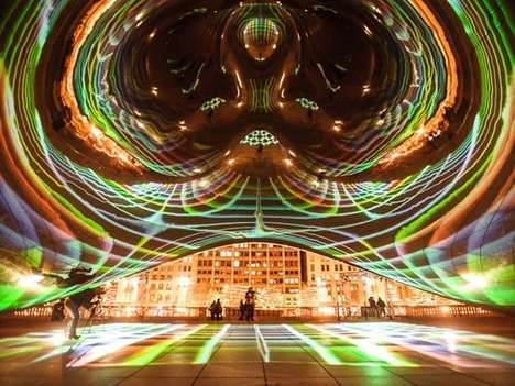 Futuristic Illumination Installations