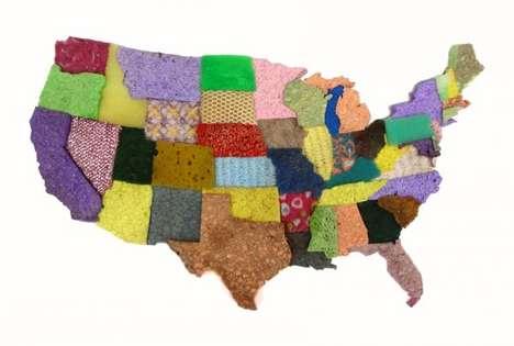 Sponge-Made Maps