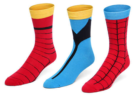 Heroic Costume Socks