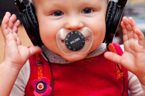 Noise-Adjusting Infant Soothers