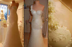 Life-Size Wedding Dress Desserts - The Bridal Gown Wedding Cake Would Show Up Any Bride