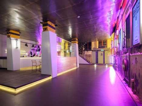 Industrial Aesthetic Atriums