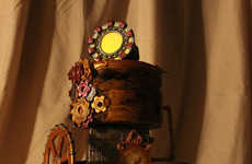 Superhero Steampunk Cakes