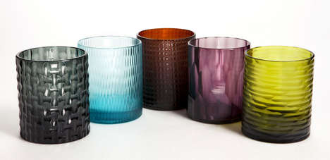Modern Murano Glass Vessels