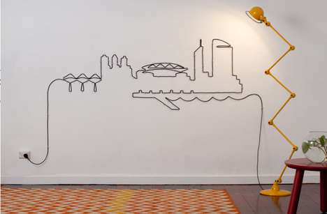 Electrical Cord Cityscapes