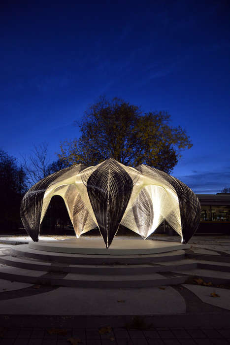 Robot-Built Public Canopies