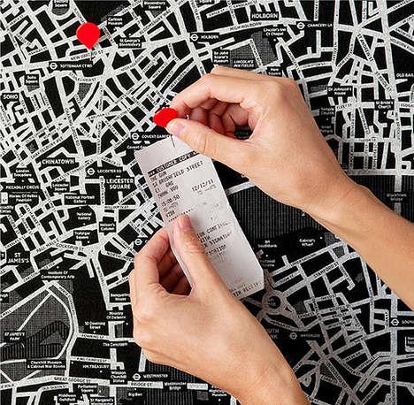 Pinnable City Maps