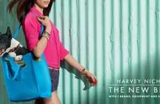 Tough Dog Fashion Ads - The Harvey Nichols The New Breed Campaign Hones in on Tenacious Shoppers