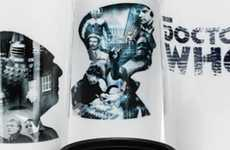 Sci-Fi Commemorative Cups - Collect All 12 of these Doctor Who 50th Anniversary Mugs