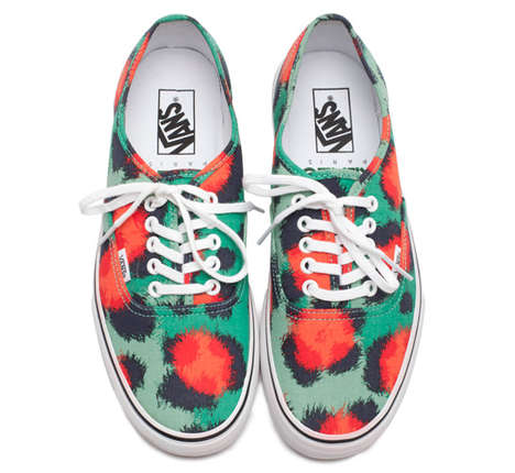 The Kenzo and Vans Fall/Winter 2013-2014 Collection is Animalistic