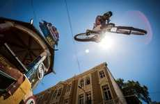 Urban Speed Cycling Campaigns - View the Winner's Perspective From the Red Bull Bike Race in Chile