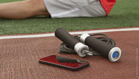 The Revolve Jumprope Gives You the Workout Statistics of a Spinning Machine