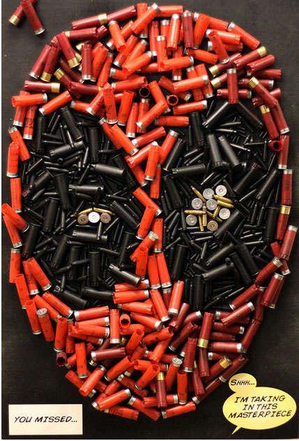 Superheroic Bullet Mosaics