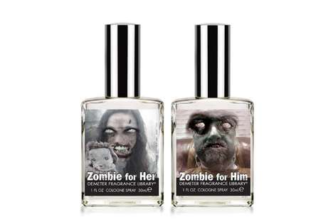 Putrid Undead Perfumes - The Zombie Cologne Spray by Demeter is Made for Horror Enthusiasts