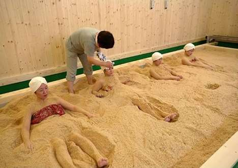 Fermented Sawdust Beauty Treatments