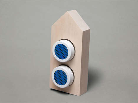 Customizable Hipster Sound Systems - The Furni DIY Bluetooth Speakers by Aaron Daley are Crafty
