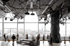 Woodland Penthouses - Electric Paris by Mathieu Lehanneur is an Installation-Centric Venue
