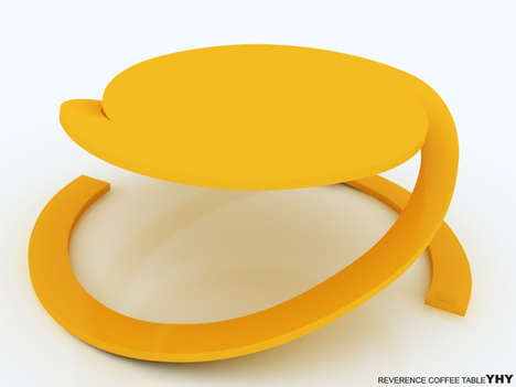 Spiraling Contemporary Tables