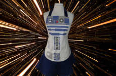 Sci-Fi Droid Chef Smocks
