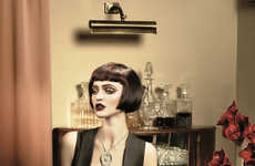 Stylish Short Coif Captures - The Revlon Professional Clandestine Collection is Sophisticatedly Glam