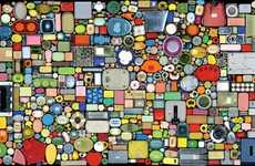 Household Object Mosaics - Chinese Artist Hong Hao Comments on Rising Consumerism in China