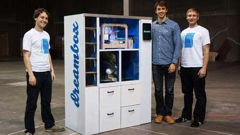 3D Printing Vending Machines - Customized 3D Printing is in Vending Machine Form Thanks to Dreambox