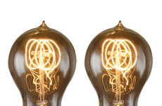 Vintage Lightbulb Designs - Bulbrite's New Vintage-Inspired Light Bulb Becomes Modernized