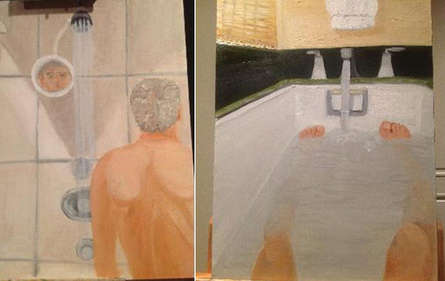 These Paintings Showcase George W. Bush in the Nude