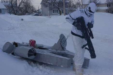 Galactic Snow Toys