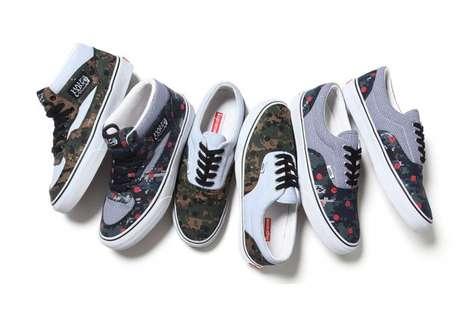 Geeky Military Sneakers