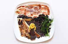 Unorthodox Daily Food Creations - Hong Yi's Daily Food Art is an Extraordinary Feat in Creativty