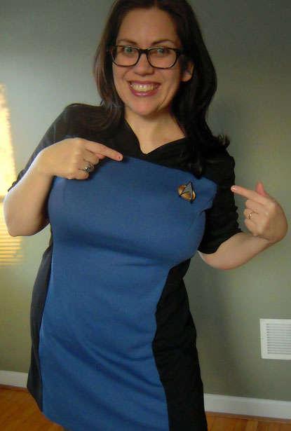 DIY Sci-Fi Show Uniforms