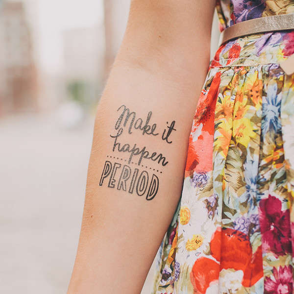 Encouraging Temporary Tattoos