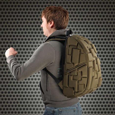 Three Dimensional Block Bags