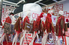 Mannequin Civil Unrest Art - Thomas Hirschhorn's 'Power Plant' Diorama is Politically Charged