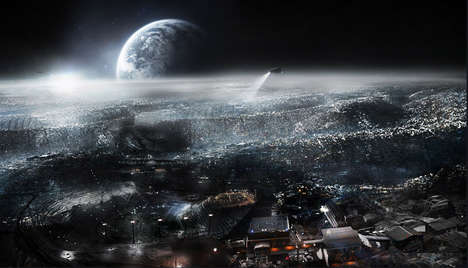 Lunar City Concept Art