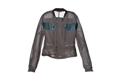 Translucent Serpentine Outerwear