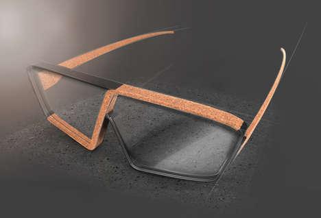Skewed Cork Spectacles
