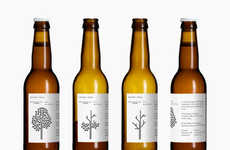 Minimalist Beer Branding - The Wild Winter Ale Graphics by Bedow for Mikkeler Embrace Simplicity