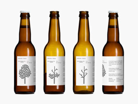 Minimalist Beer Branding