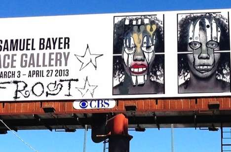 Expensive Graffiti Billboards - The Phil Frost and Samuel Bayer Billboard Series is Valuable