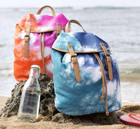 Groovy Tie Dye Beach Bags